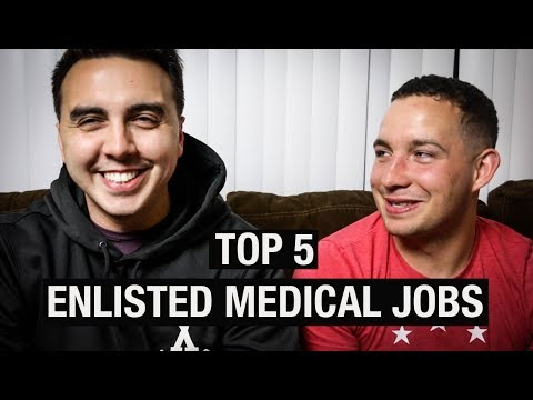 TOP 5 MILITARY ENLISTED MEDICAL JOBS