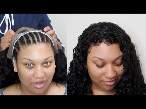 REMOVABLE Quickweave With A FRONTAL | Ali Pearl Hair