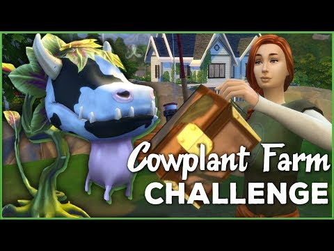 The Lucky Perks of Skipping School! 🐄🌱 Sims 4 Cowplant Farm: Episode #31