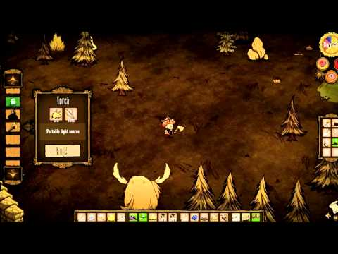 Don't Starve Guide How To Survive The Night With No Flint or Logs