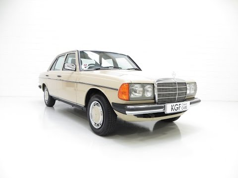 An Iconic Classic Mercedes-Benz W123 230E with Just 42,346 Miles from New - SOLD!