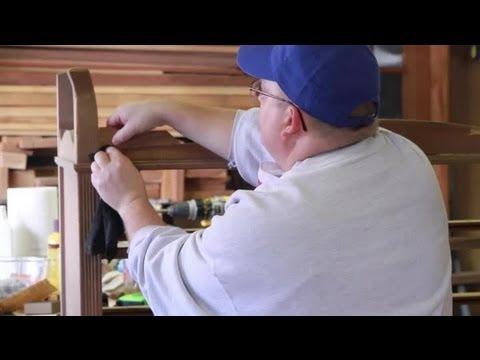 How to Apply Wood Veneer Without a Vacuum Press : Wood & Furniture Repair Tips