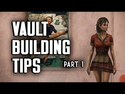Vault Building Tips Part 1 - Vault-Tec Workshop - Fallout 4