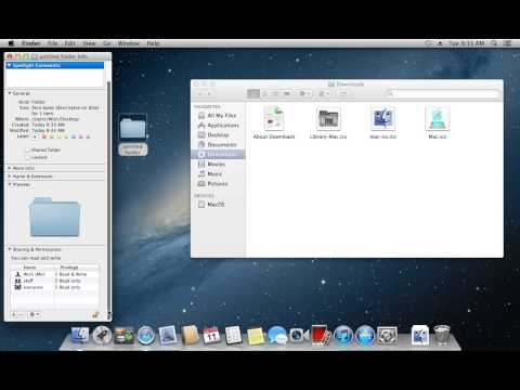 How to Change an Icon on Mac