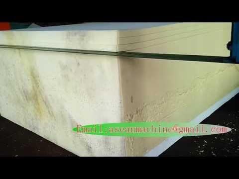 Polyurethane Flexible Mattress Foam Horizontal Cutting Machine