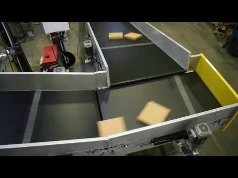 LEWCO Knife-edge Parcel Belt System