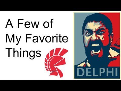 Jim McKeeth's Favorite Things about Delphi