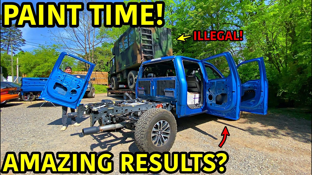 Rebuilding A Wrecked 2019 Ford Raptor Part 11