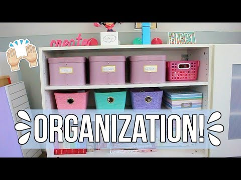 HOW I ORGANIZE MY DOLL STUFF! | American Girl Doll Organization 2018
