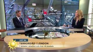 Terroristernas vidriga tillvägagångssätt - Nyhetsmorgon (TV4)