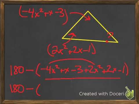 Geometric Applications