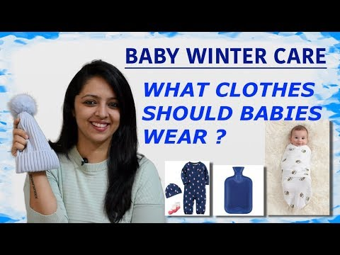 WINTER CARE FOR BABY : CLOTHING (Eng)
