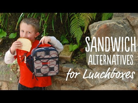 EAT   Sandwich Alternatives for Your Kid's Lunchbox