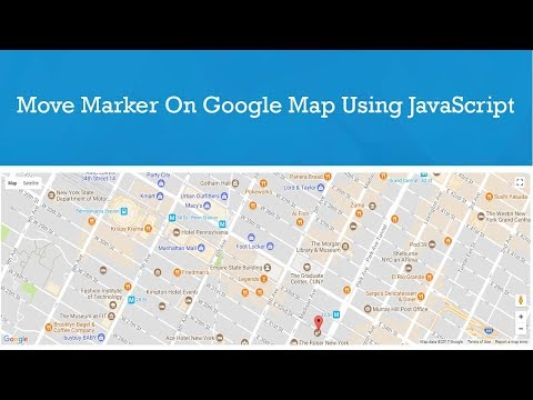 Move Marker Smoothly on Google Map using JavaScript || php linux