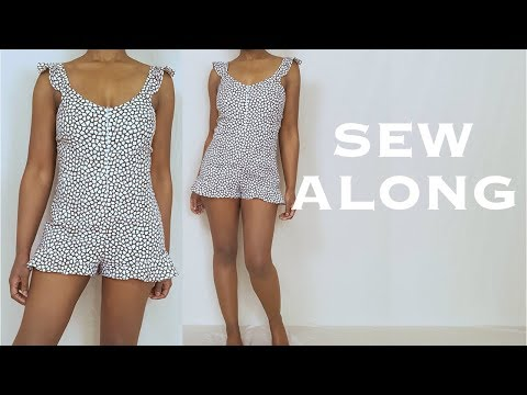 Playsuit (Sew Along) Tutorial