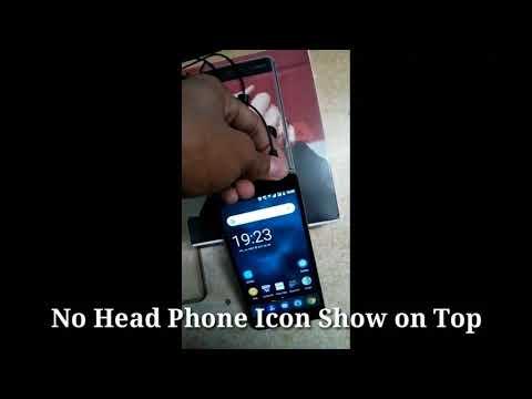 Nokia 6 Headphone Icon Problem Solve