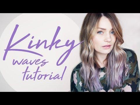 HAIR TUTORIAL: Kinky Waves! | Laura Bradshaw