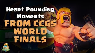 Heart-pounding Moments from the CCGS World Finals