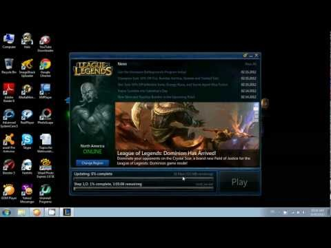 League of legends download Patch fast [HELP!]