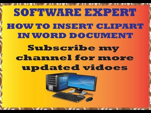 ms word tutorial - shortcut keys - Software 2017 clip art in ms word -zahid