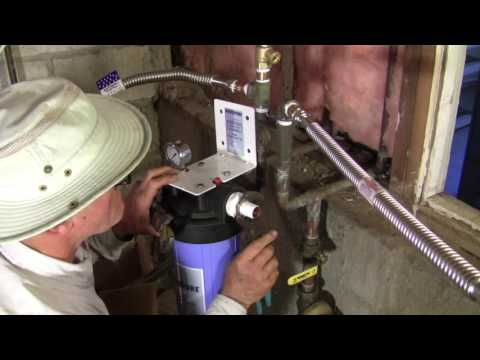 Whole House Water Treatment System Installation