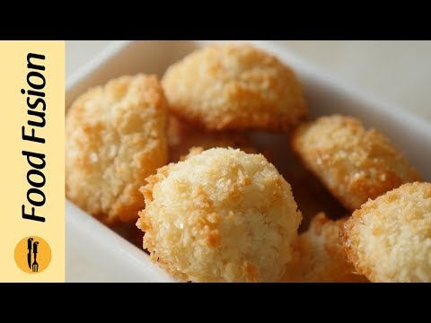 Coconut Macaroons  Recipe By Food Fusion