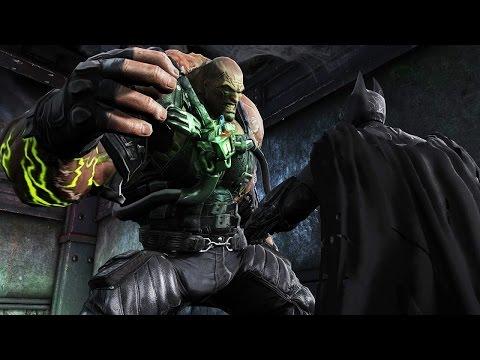 Batman Arkham Origins: TN-1 Bane Boss Fight (4K 60fps)