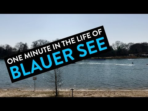 One Minute in the Life of Blauer See