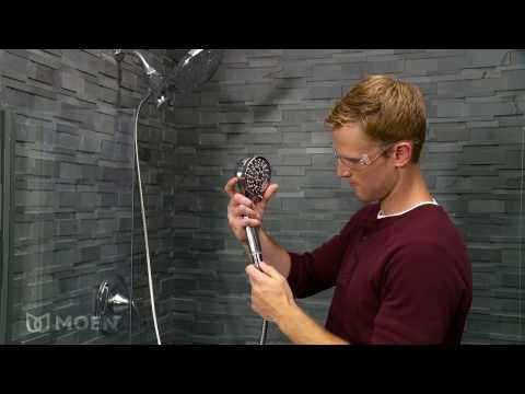Moen Attract 6 Spray Hand Shower and Shower Head Combo Kit with Magnetix Installation Video