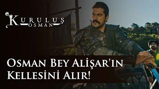 Osman Bey Alişar'ın Kellesini Alır! (Kuruluş Osman 23.Bölüm)
