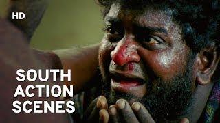 Hindi Dubbed South Movie Action Scene | Aasteen Ka Saanp | Hindi Action Movie