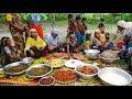 Huge Traditional Food Arrangement For Ramadan Iftar - Ramadan Evening Snacks Prepared For Villagers