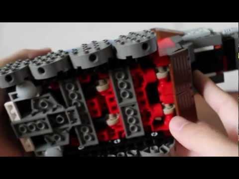 LEGO Transformers: Payload Scout & Rail Tank