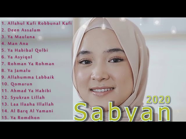 Nissa Sabyan [ Full Album 2020 ] 💛 Lagu Sholawat Nabi Enak Didengar | Allahul Kafi Robbunal Kafi