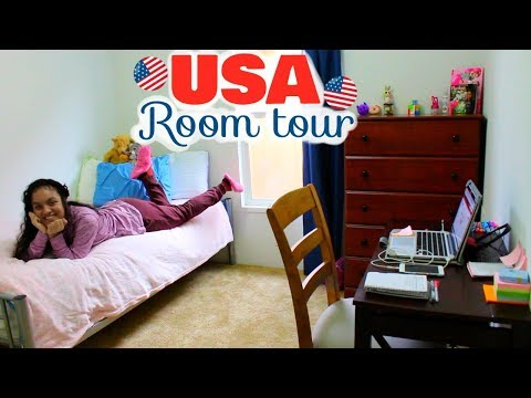 Tour Of My Room in USA