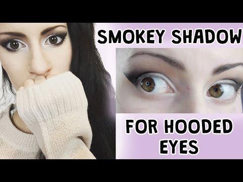 Black Smokey Look for Hooded Eyes