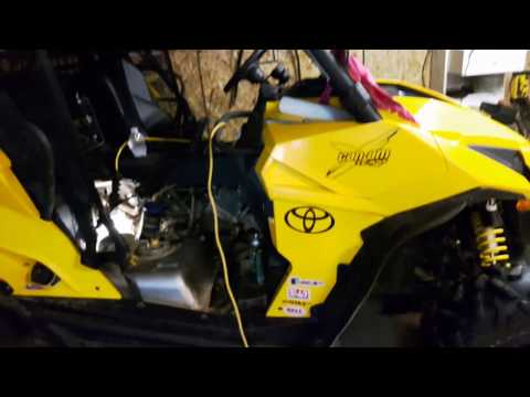 How to video.. can am maverick gear box oil change