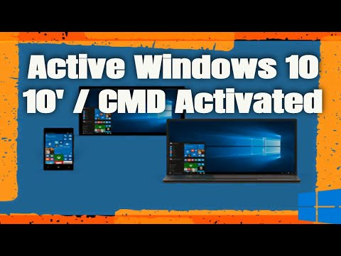 Active Windows 10 and Windows Server without Tool