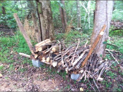 Make a Log Rack: Cheaply and Easily