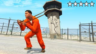 GTA 5 - ESCAPE the PRISON as THE STRONGEST Man!