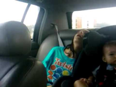 Don't fall asleep in the car!