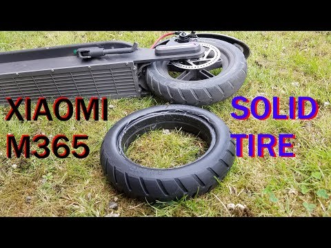 BIKIGHT FHTYRE solid replacement tire for Xiaomi M365 review