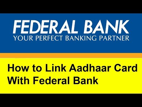 How to Link  Aadhaar Card with Fedral Bank online | Tamil Banking