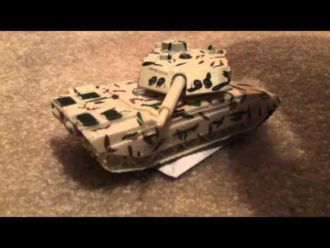 Paper Tank