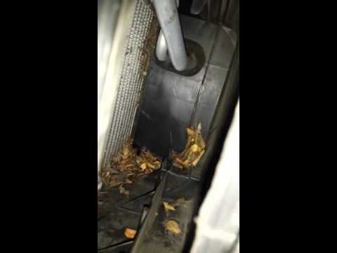 Bad odor coming out of car vents
