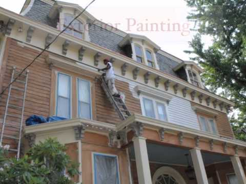 Monk's Home Improvements Historic Home Exterior Paint Job
