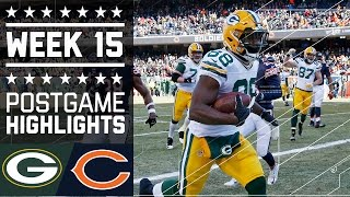 Packers vs. Bears | NFL Week 15 Game Highlights