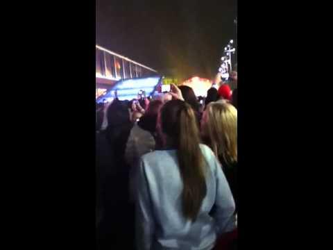Justin Bieber at Westfield Stratford city