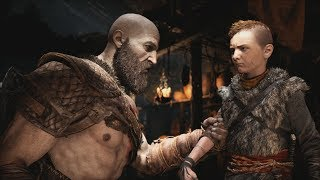 God of War (2018) Gameplay Walkthrough Part 1 - Father Son - PS4 Pro 4K
