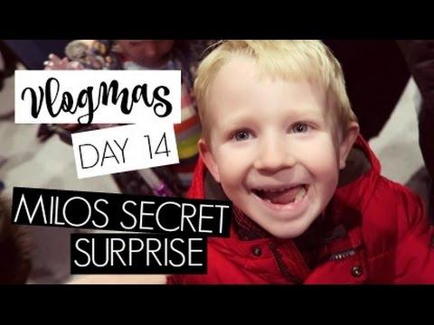 VLOGMAS DAY 14  / Milos Secret Surprise